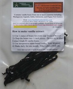 Vanilla Products USA 10 Extract Grade B Vanilla Beans 4~5 inches (12~14 cm)