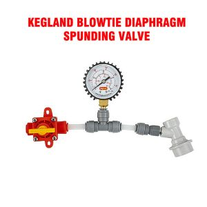Diaphragm Spunding Valve - Adjustable Pressure Relief Gauge Ball