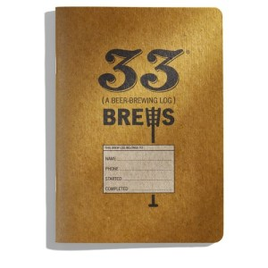 33 Brews: A Homebrewing Log and Brew Journal