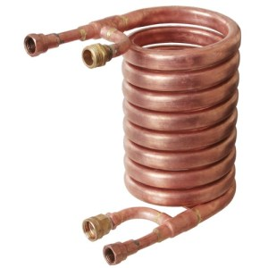 Wort Chiller - Counterflow Chiller (With 1/2 in. FPT Fittings) WC90A