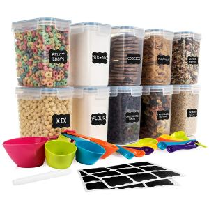 airtight food storage containers for pantry