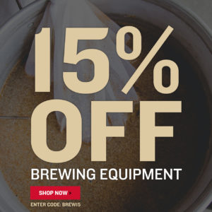 To receive 15% Off Equipment