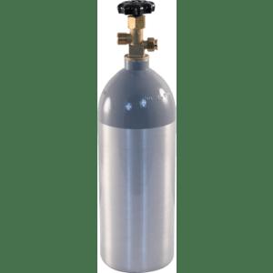 Aluminum 5 lb CO2 Tank D1056