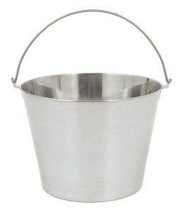Bayou Classic 4825 Stainless Beverage Bucket, 2.5-Gallon