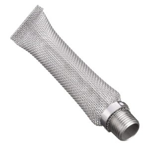 TOOGOO 12 inch Stainless Steel Bazooka Screen with 1/2 inch NPT Fitting by TOOGOO