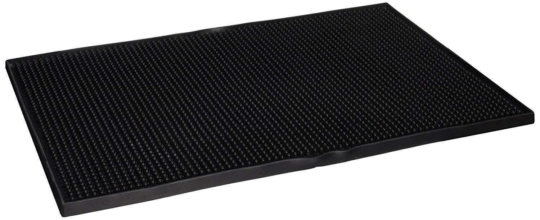12 Length x 12 Width San Jamar VM5280 Versa-Mat Interlocking Bar Mat Clear