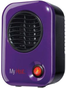 Lasko 106 My Heat Personal Ceramic Heater, Purple