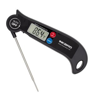 Inkbird ℃&℉ Digital Instant-Read Food Cooking Meat Thermometer for Meat Kitchen Grill Smoker Milk BBQ Thermometer Home-Brewing