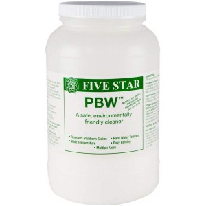 Five Star PBW - 8 lbs - Non-Caustic Alkaline Cleaner