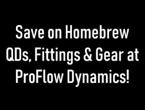 proflow dynamics homebrew sale