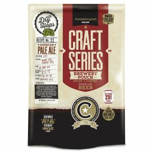 Pale Ale BEER KIT MANGROVE JACK BREWERY POUCH 5 Gallon NO CLEANUP Yeast Included