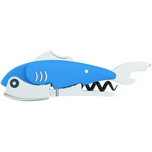 True Zoo 4224 Gillbert Fish Corkscrew by TrueZoo, Blue