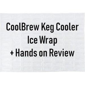 CoolBrew Keg Cooler Ice Wrap KEG483