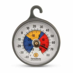 Fridge/Freezer Thermometer, 2-inch Diameter