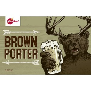 morebeer brown porter homebrew kit