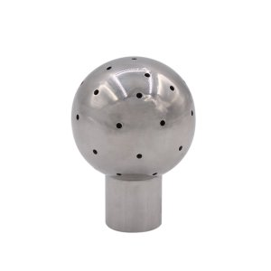 "DERNORD Fixed Spray Ball Stainless Steel 304 Tank Cleaning Ball 1/2"" NPT Threaded"