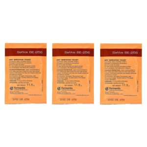 Fermentis SafAle BE-256 Beer/Ale Yeast - Pack of 3 - with North Mountain Supply Freshness Guarantee