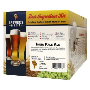 Brewer's Best - Home Brew Beer Ingredient Kit (5 Gallon), (India Pale Ale)