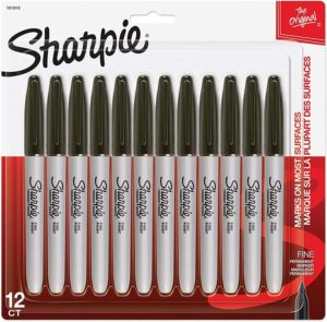 SHARPIE Permanent Markers Fine Point
