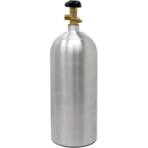 Victory 10lb CO2 Tank Aluminum Cylinder with CGA320 Valve