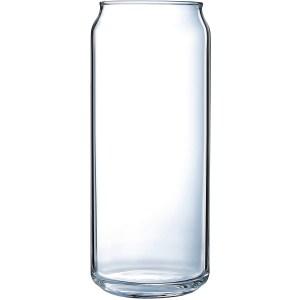 Luminarc Craft Brew 16 Ounce Tall Boy Can Glass 4-Piece Set, Set of 4, Clear