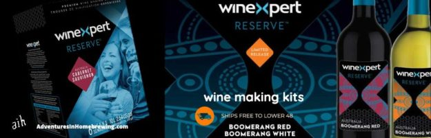 Winexpert Reserve Australian Boomerang White Wine Making Kit (Limited Release)