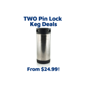 pin lock homebrew keg deal