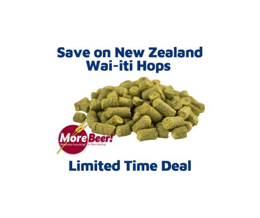 Zealand Wai-iti Hops Deal