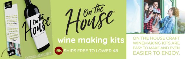 on the house wine kits