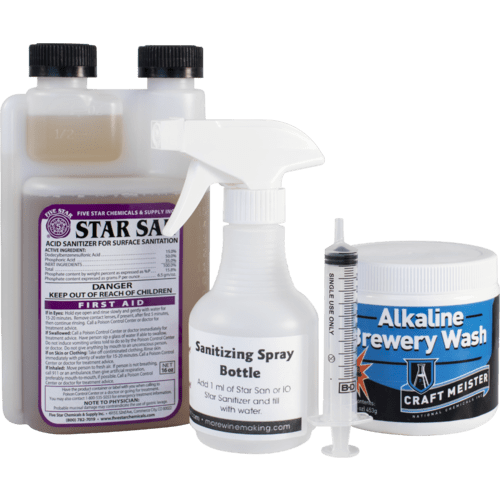 Cleaning and Sanitizing Kit