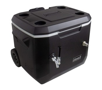 Kegco Jockey Box, 1 Tap, Black