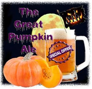 'The Great Pumpkin Charlie Brown' Ale Special
