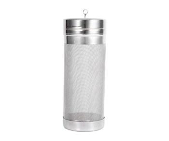 Beer Wine Dry Hopper, Stainless Steel Homebrew Beer Wine Hopper Filter Strainer 300 Micron Home Accessory 718cm