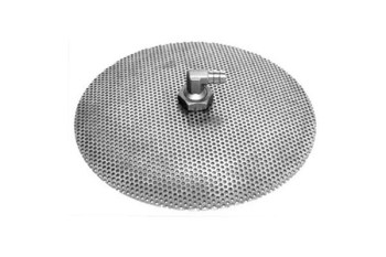 """Chill Passion Stainless Steel Domed False Bottom, Select a Size (12"""", 10"""" or 9""""), 12"""" L x 12"""" W"""
