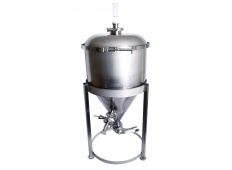7.5 Gallon More Beer Stainless Steel Conical Fermenter