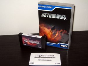 Astrododge MSX Packaging