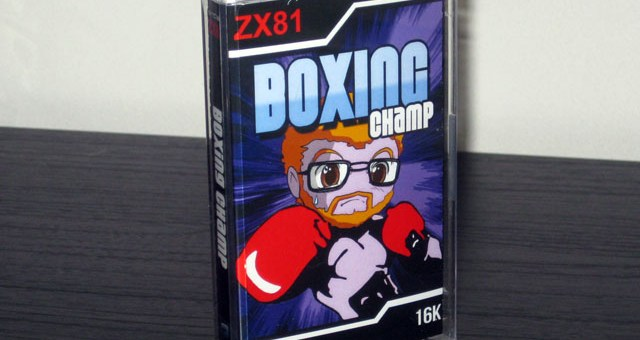 Boxing Champ ZX-81 Packaging