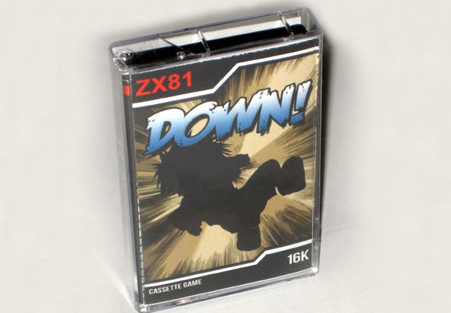 Down! ZX81 Packaging