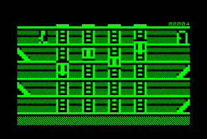 Stairrunner for the Commodore PET (ingame)