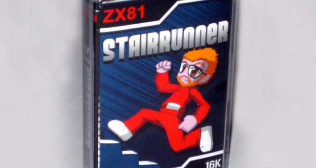 Stairrunner ZX81 Packaging