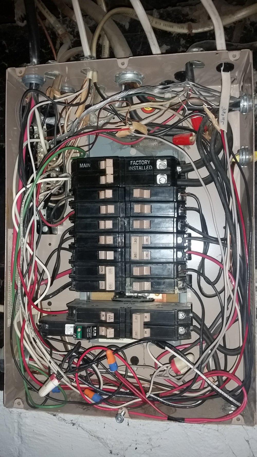 medium resolution of leads on in line 240v gfci homebrewtalk com beer wine mead installing 220 volt wiring cedar mill circuit breaker installing 220