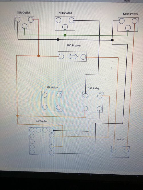 small resolution of wiring question in a ssr to outlet running a 110v heater