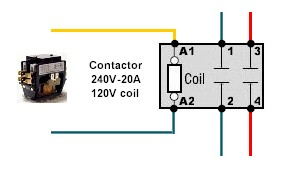 wiring diagram of contactor electric fence circuit diy 2 pole all data