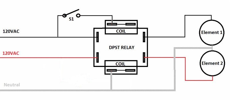 120vac Relay Wiring Diagram : 27 Wiring Diagram Images