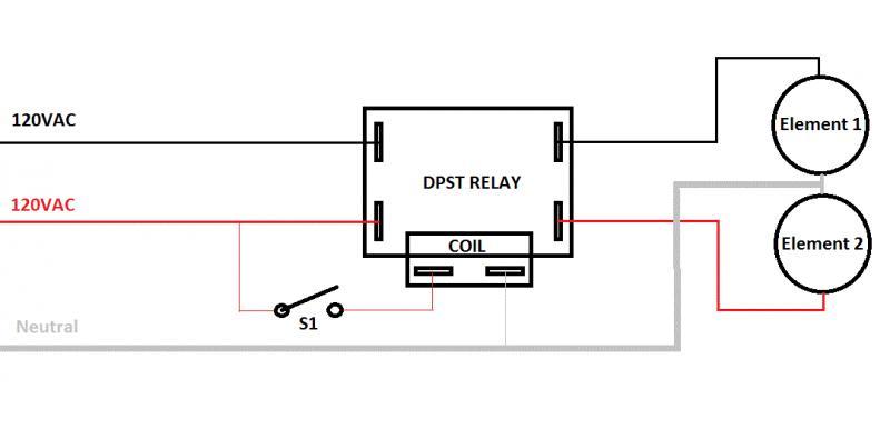 spdt switch wiring diagram