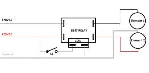 Wiring help needed for DPST relays | HomeBrewTalk
