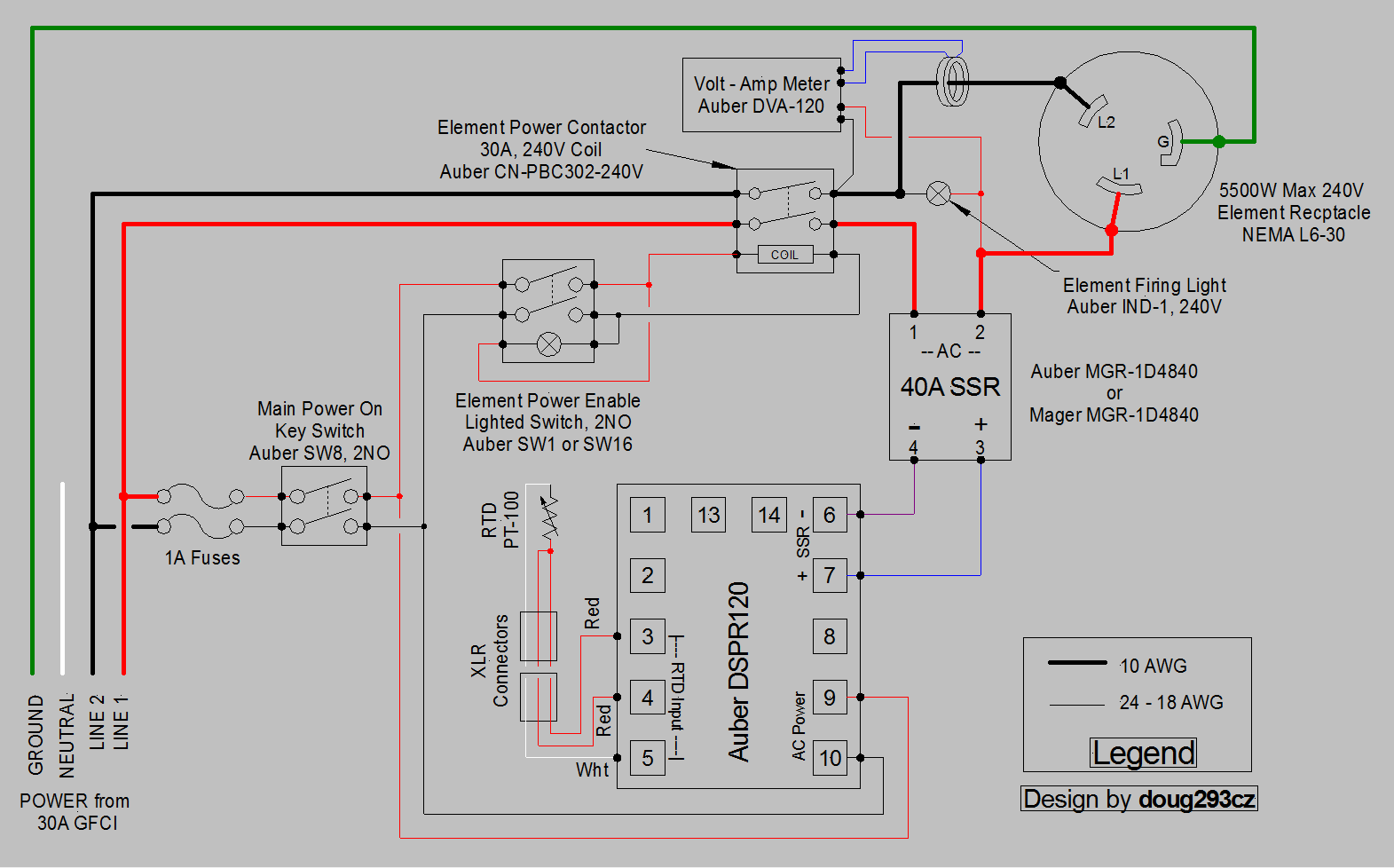 wiring diagram for ssr