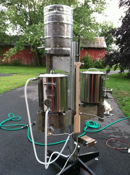 all grain brewing setup