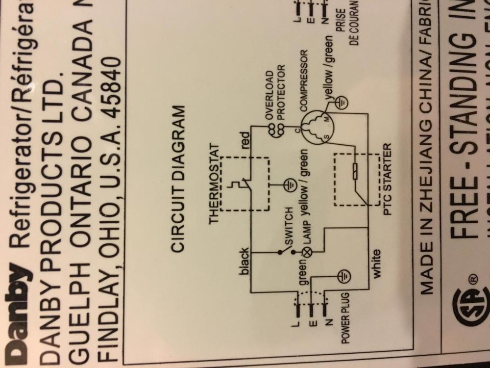 medium resolution of stc 1000 wiring for danby mini fridge homebrewtalk com beer danby wiring diagram
