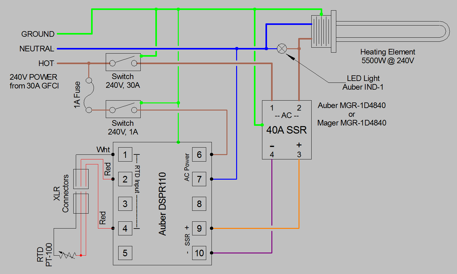 Rex C100 Wiring Diagram Auto Electrical 2004 Ssr